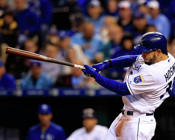 American League Baseball Poster featuring the photograph Eric Hosmer by Jamie Squire