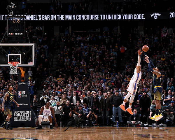 Nba Pro Basketball Poster featuring the photograph Gary Harris by Garrett Ellwood