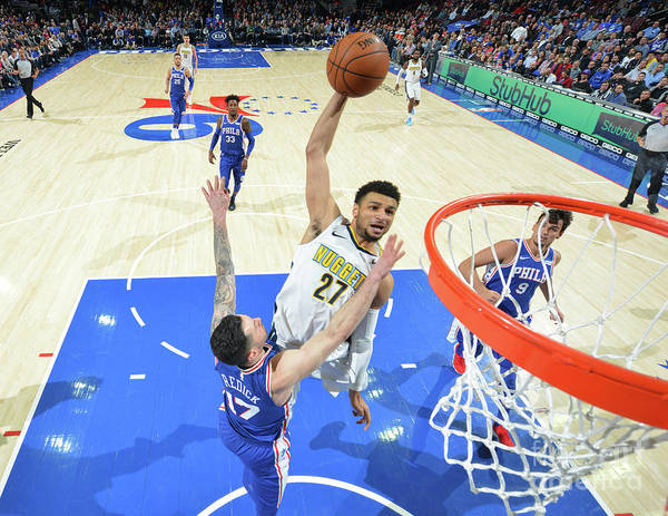 Sports Ball Poster featuring the photograph Jamal Murray by Jesse D. Garrabrant