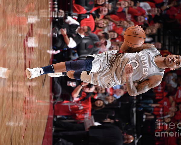 Playoffs Poster featuring the photograph Jeff Teague by Bill Baptist