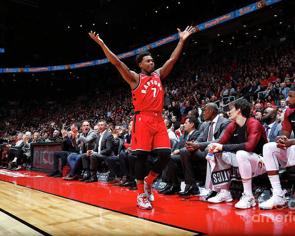 Nba Pro Basketball Poster featuring the photograph Kyle Lowry by Mark Blinch