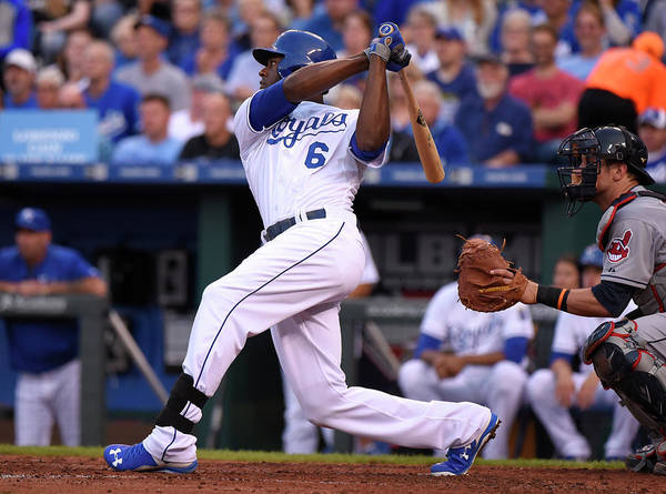 People Poster featuring the photograph Lorenzo Cain by Ed Zurga