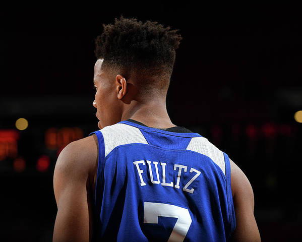 Nba Pro Basketball Poster featuring the photograph Markelle Fultz by Garrett Ellwood