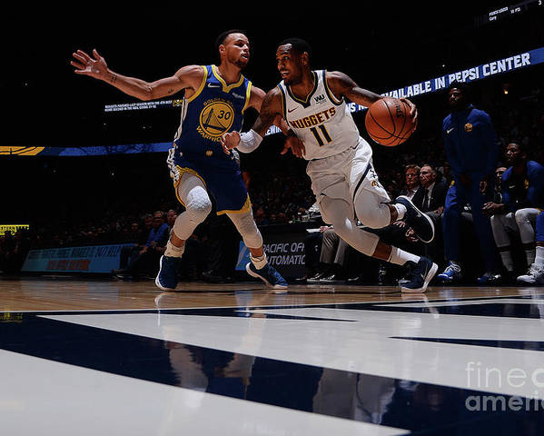 Nba Pro Basketball Poster featuring the photograph Monte Morris by Bart Young