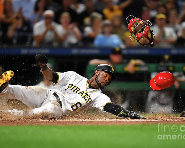 People Poster featuring the photograph Starling Marte by Joe Sargent