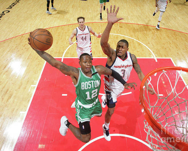 Playoffs Poster featuring the photograph Terry Rozier by Ned Dishman