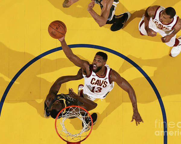 Playoffs Poster featuring the photograph Tristan Thompson by Nathaniel S. Butler