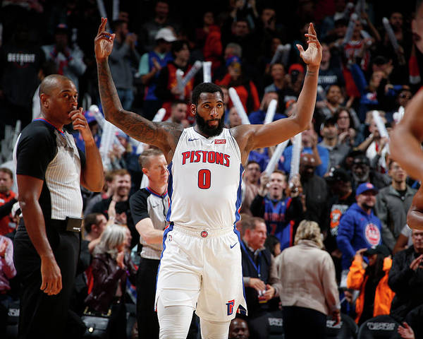 Nba Pro Basketball Poster featuring the photograph Andre Drummond by Brian Sevald