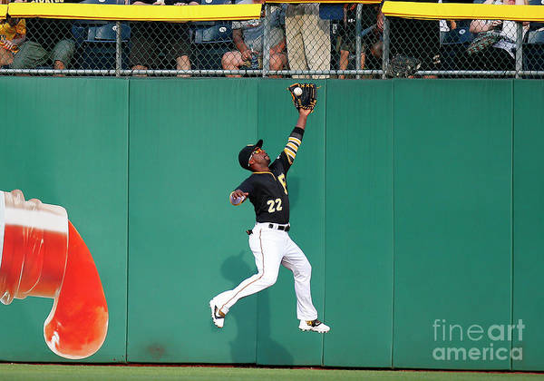 Second Inning Poster featuring the photograph Andrew Mccutchen by Justin K. Aller