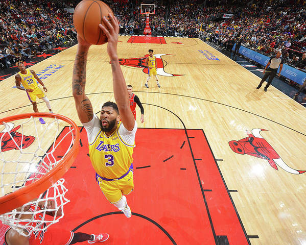 Nba Pro Basketball Poster featuring the photograph Anthony Davis by Jesse D. Garrabrant