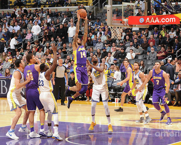 Nba Pro Basketball Poster featuring the photograph Brandon Ingram by Andrew D. Bernstein