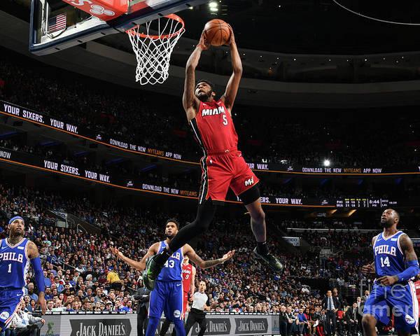 Nba Pro Basketball Poster featuring the photograph Derrick Jones by Jesse D. Garrabrant