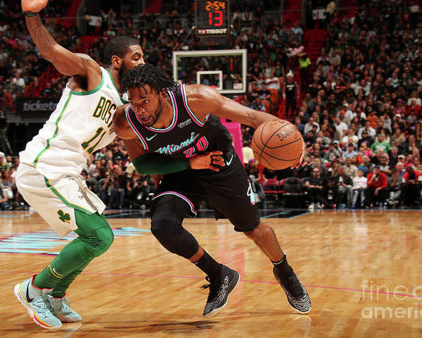 Justise Winslow Poster featuring the photograph Justise Winslow by Issac Baldizon