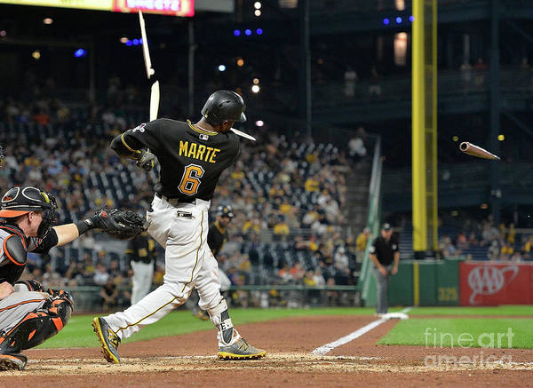 People Poster featuring the photograph Starling Marte by Justin Berl