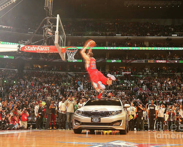 Kia Poster featuring the photograph Blake Griffin by Nathaniel S. Butler