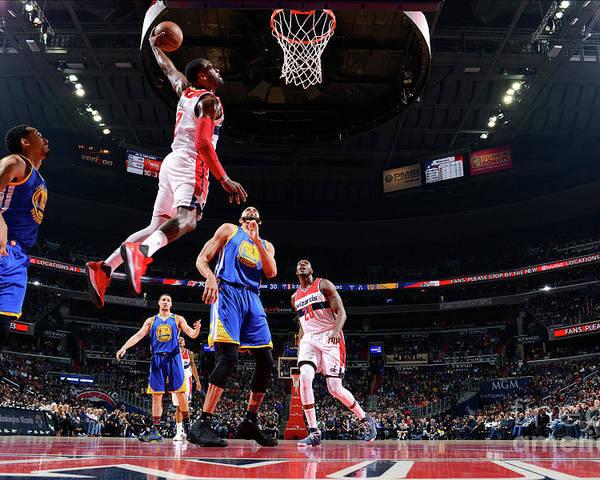 Nba Pro Basketball Poster featuring the photograph John Wall by Jesse D. Garrabrant