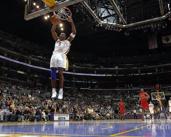 Nba Pro Basketball Poster featuring the photograph Kobe Bryant by Noah Graham