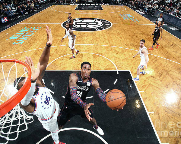 Playoffs Poster featuring the photograph Rondae Hollis-jefferson by Nathaniel S. Butler