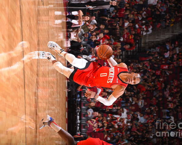 Nba Pro Basketball Poster featuring the photograph Russell Westbrook by Bill Baptist