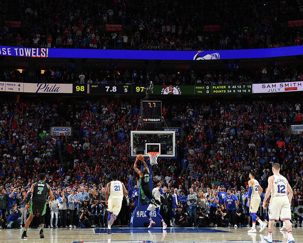 Playoffs Poster featuring the photograph Al Horford by Jesse D. Garrabrant