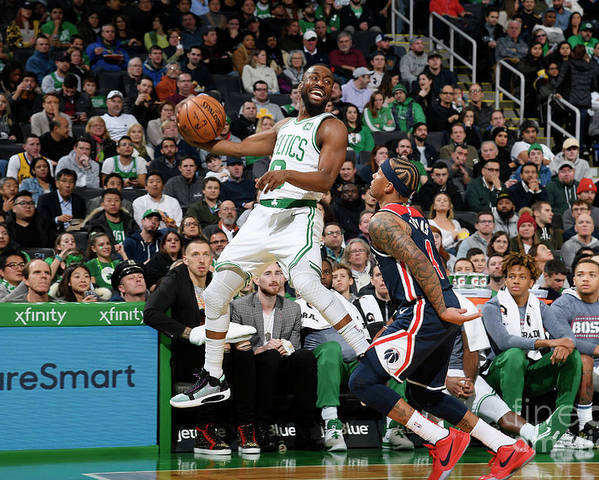 Kemba Walker Poster featuring the photograph Kemba Walker by Brian Babineau