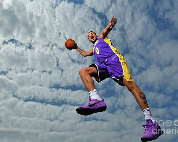 Nba Pro Basketball Poster featuring the photograph Kyle Kuzma by Jesse D. Garrabrant