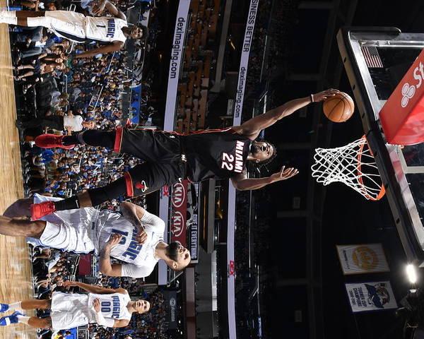 Nba Pro Basketball Poster featuring the photograph Jimmy Butler by Fernando Medina