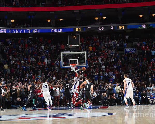 Nba Pro Basketball Poster featuring the photograph Robert Covington by Jesse D. Garrabrant
