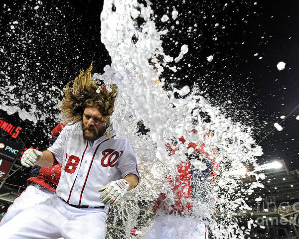 Ninth Inning Poster featuring the photograph Jayson Werth by Patrick Smith