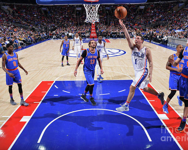 Nba Pro Basketball Poster featuring the photograph T.j. Mcconnell by Jesse D. Garrabrant