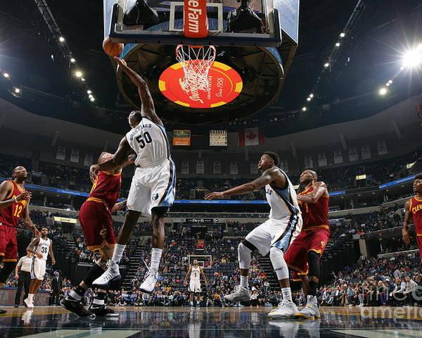 Nba Pro Basketball Poster featuring the photograph Zach Randolph by Joe Murphy