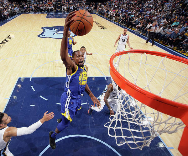 Nba Pro Basketball Poster featuring the photograph Kevin Durant by Joe Murphy