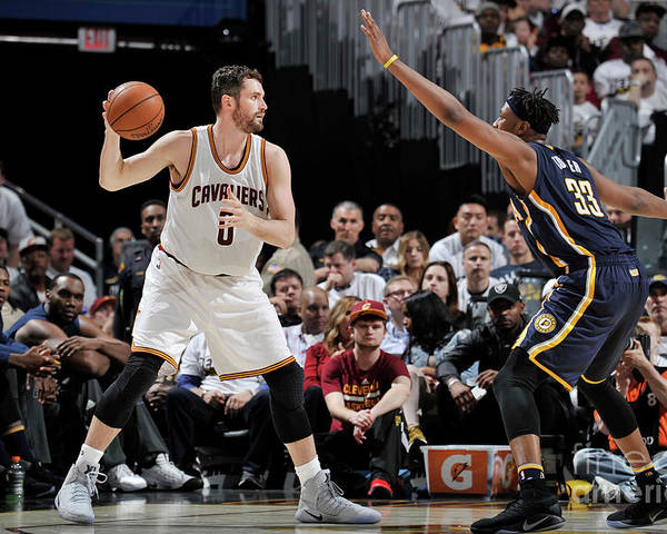 Playoffs Poster featuring the photograph Kevin Love by David Liam Kyle