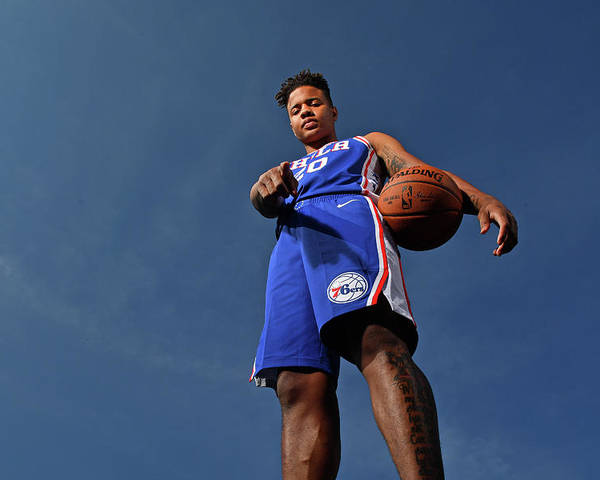 Nba Pro Basketball Poster featuring the photograph Markelle Fultz by Jesse D. Garrabrant