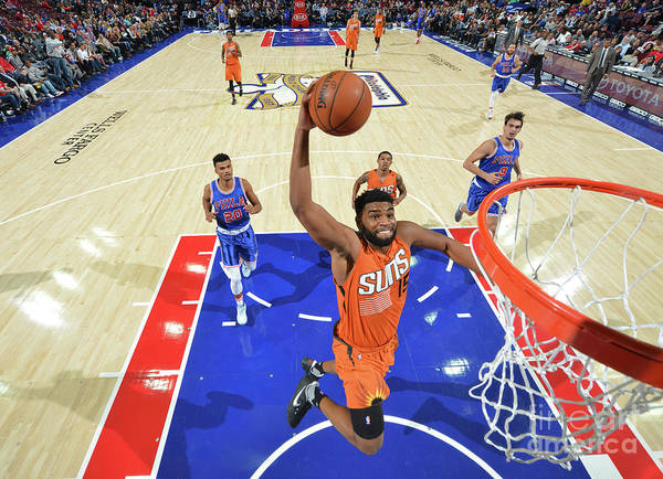 Nba Pro Basketball Poster featuring the photograph Alan Williams by Jesse D. Garrabrant