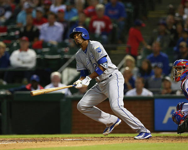 People Poster featuring the photograph Alcides Escobar by Ronald Martinez