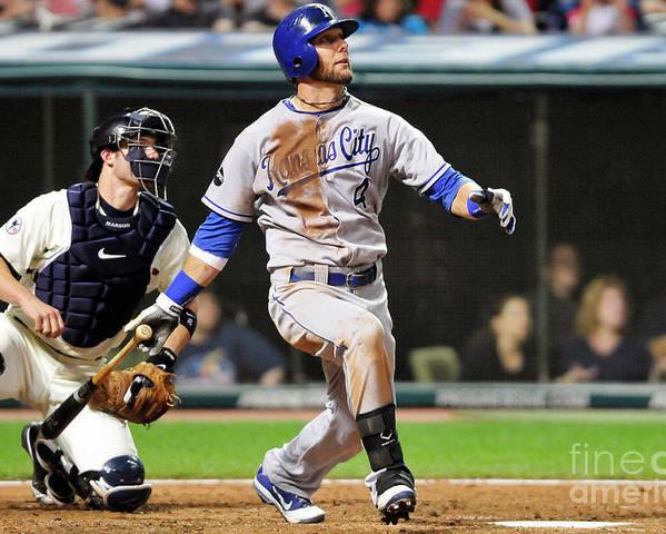 American League Baseball Poster featuring the photograph Alex Gordon by Jason Miller