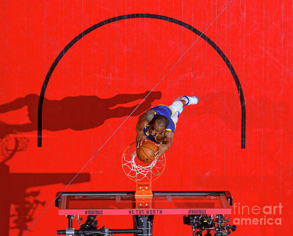Playoffs Poster featuring the photograph Andre Iguodala by Mark Blinch