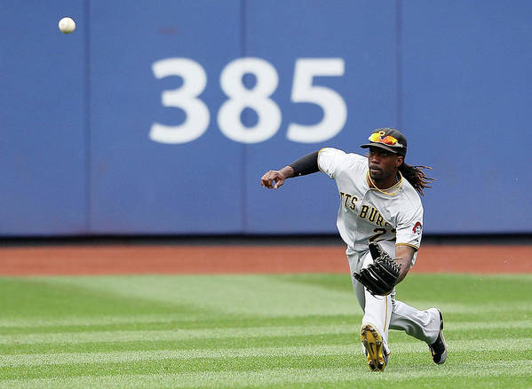 American League Baseball Poster featuring the photograph Andrew Mccutchen by Alex Trautwig