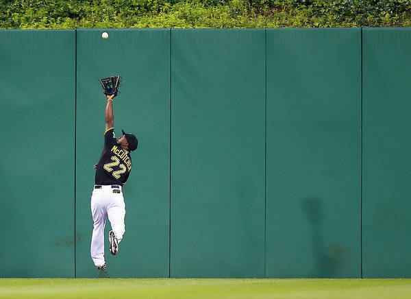 Second Inning Poster featuring the photograph Andrew Mccutchen by Jared Wickerham