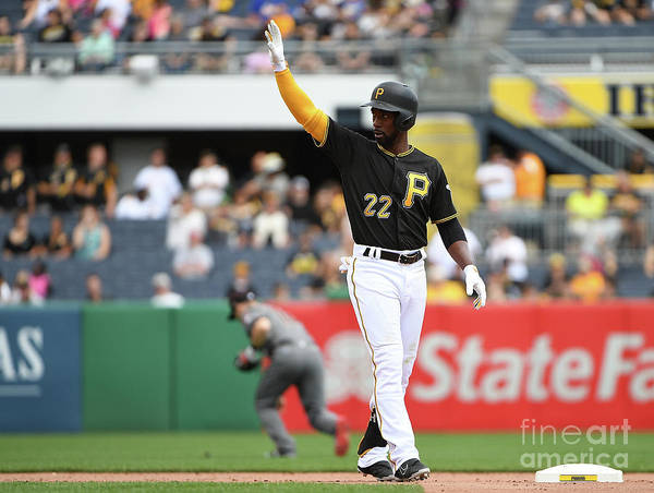 People Poster featuring the photograph Andrew Mccutchen by Justin Berl