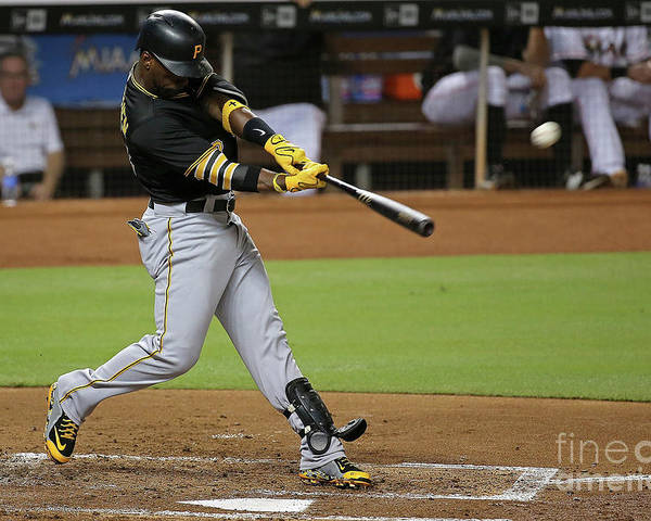 People Poster featuring the photograph Andrew Mccutchen by Mike Ehrmann