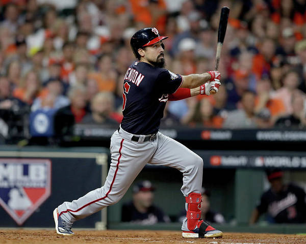 American League Baseball Poster featuring the photograph Anthony Rendon by Elsa