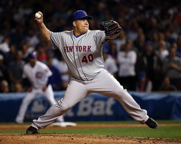People Poster featuring the photograph Bartolo Colon by Jonathan Daniel