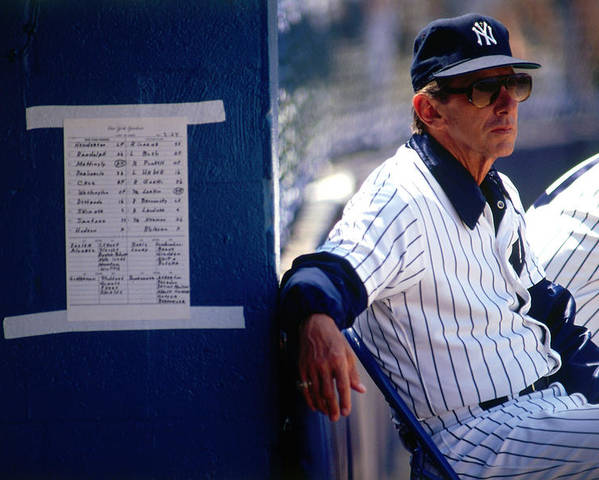 1980-1989 Poster featuring the photograph Billy Martin by Ronald C. Modra/sports Imagery