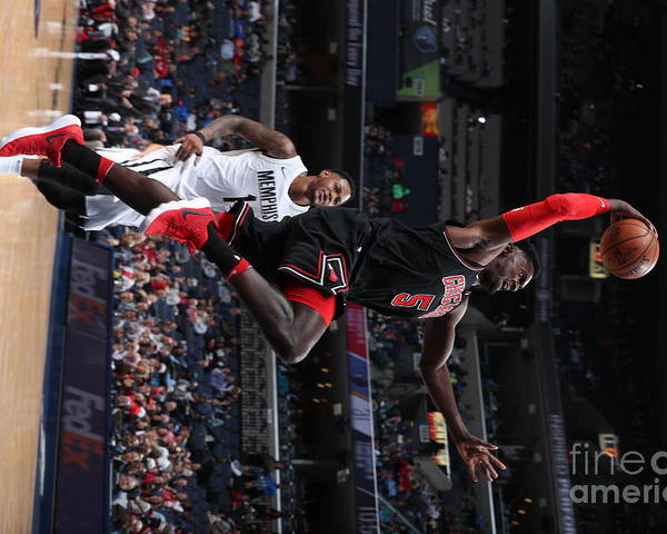 Nba Pro Basketball Poster featuring the photograph Bobby Portis by Joe Murphy