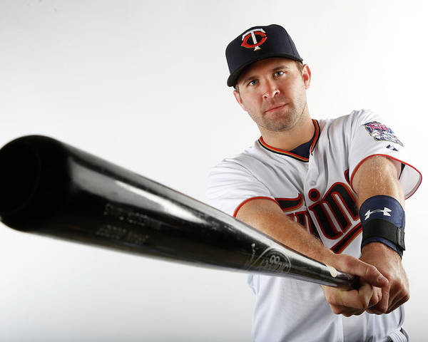 Media Day Poster featuring the photograph Brian Dozier by Brian Blanco