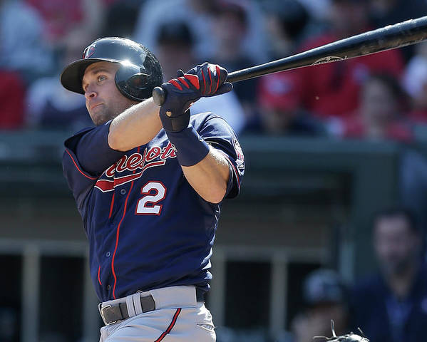 People Poster featuring the photograph Brian Dozier by Mike Mcginnis
