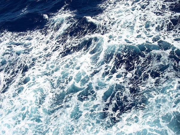 Waves Poster featuring the photograph Caribbean Waves by Michelle Miron-Rebbe