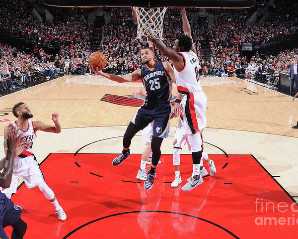 Nba Pro Basketball Poster featuring the photograph Chandler Parsons by Sam Forencich